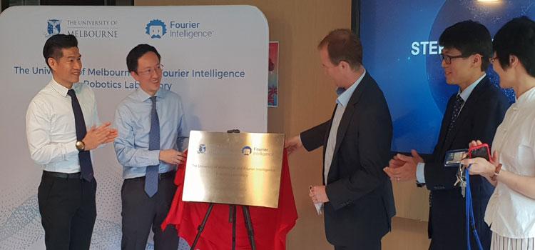 Opening of the Fourier Intelligence Robotics Laboratory